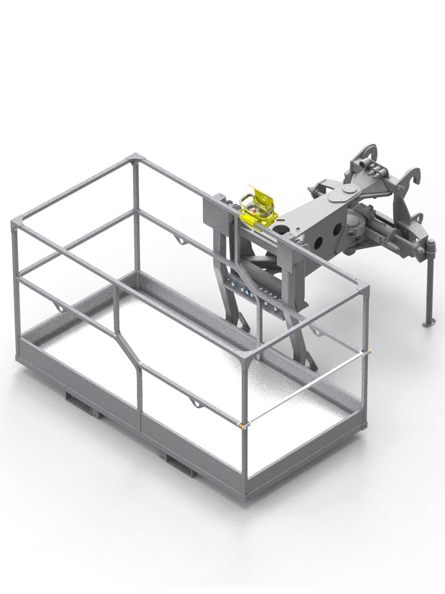 NON-EXTENDIBLE ROTATING SAFETY BASKET 2.2 M – 500 KG