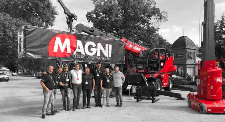 Magni Telescopic Handlers appoints new dealer in Bulgaria