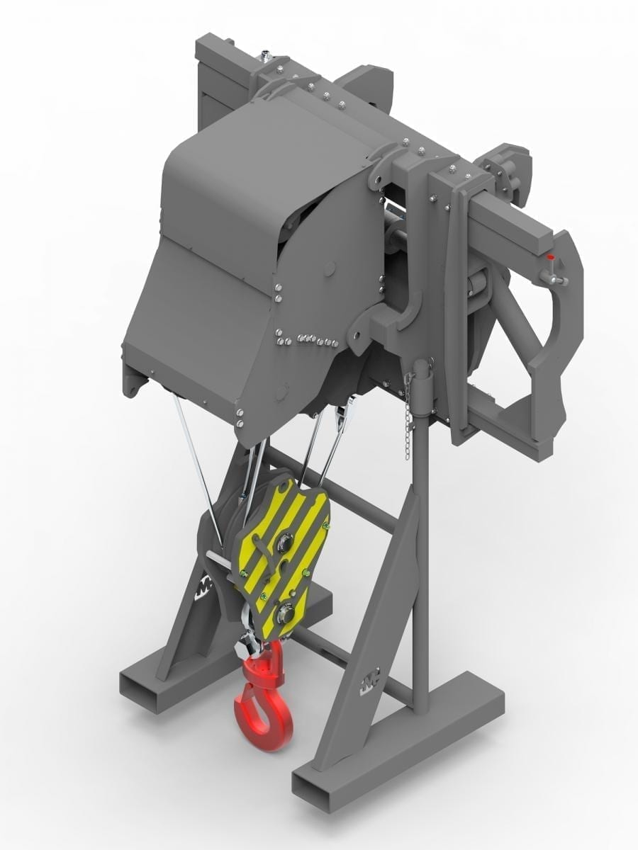 20-TONNE WINCH WITH SIDE SHIFT