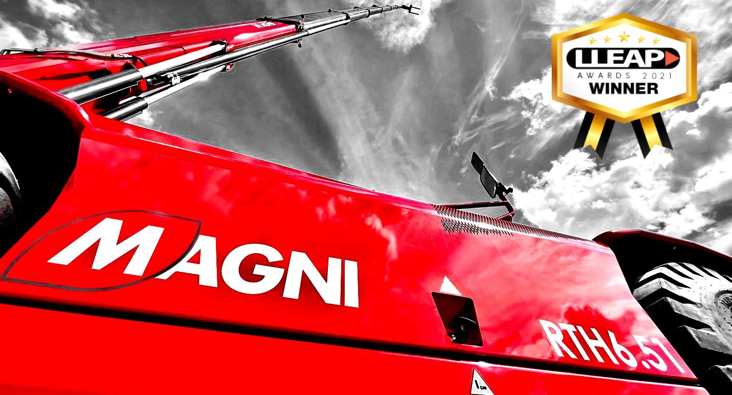 The Magni RTH 6.51 winner at the LLEAP Awards 2021